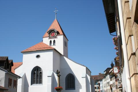 Medieval church of Grandson