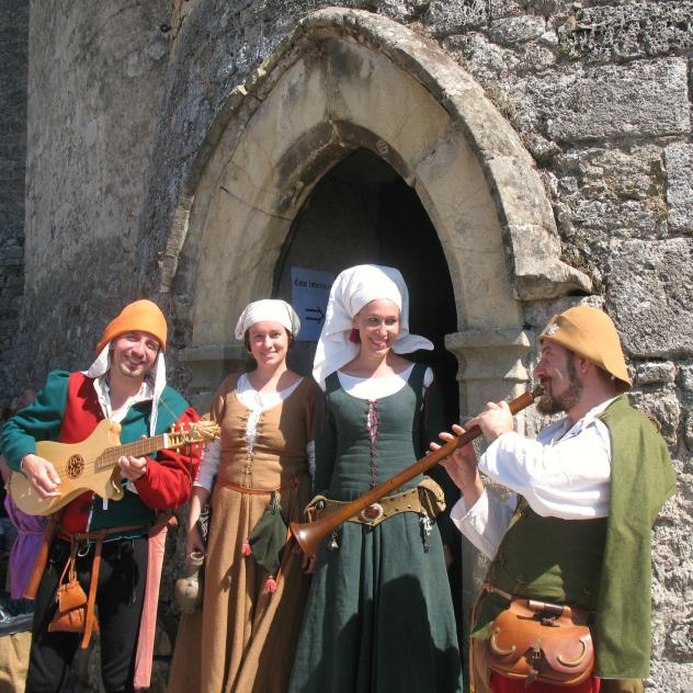 Medieval festival at the Château of Grandson