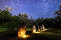 Menhirs at Clendy