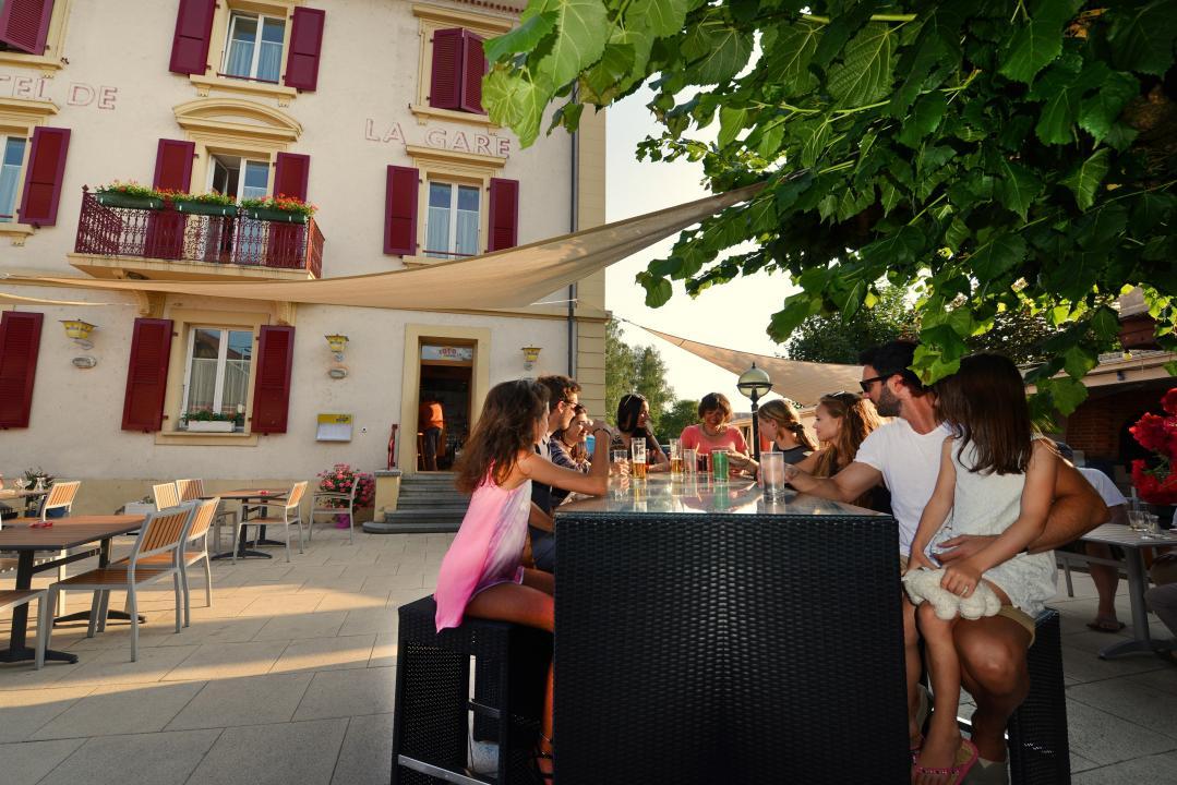 Restaurant Hotel De Ville Yvonand