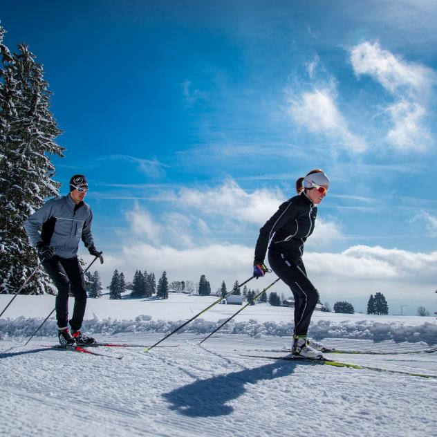 Cross-country skiing - Sainte-Croix/Les Rasses