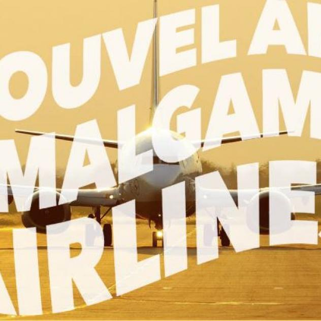 Nouvel An - Amalgame Airlines