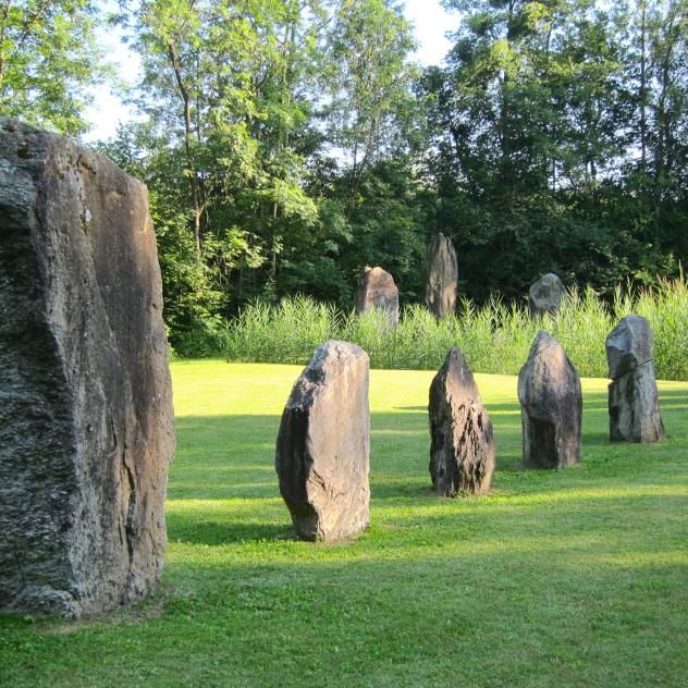 The Menhirs at Clendy