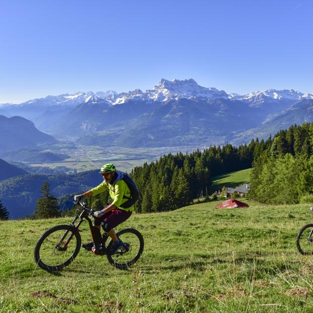Mountainbike Leysin