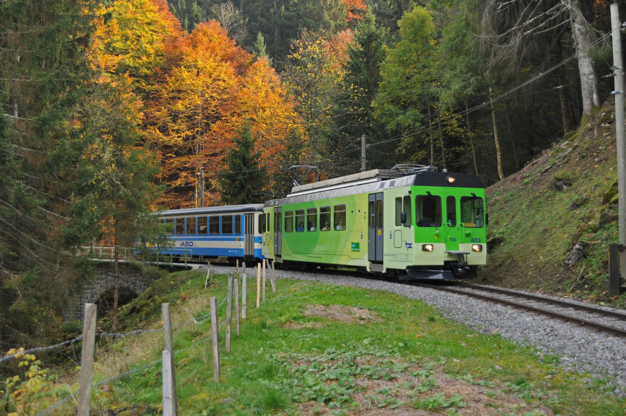 huge discount 03041 e3375 Train Aigle - le Sépey - les Diablerets