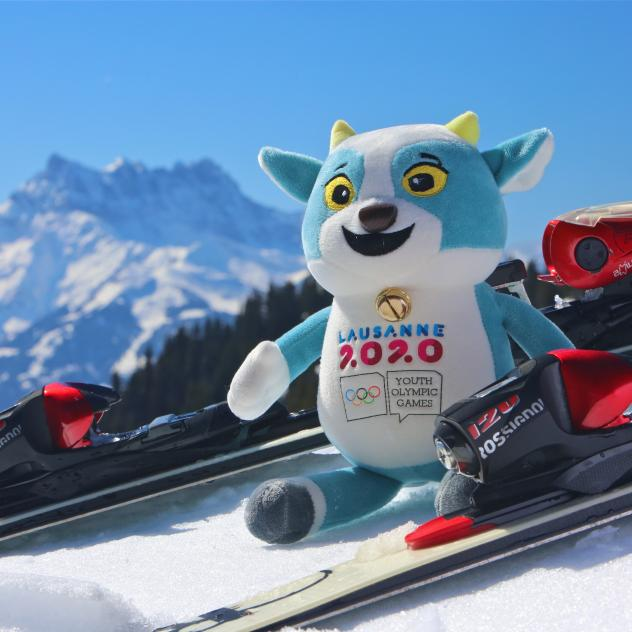 Try the sports 'Leysin en Jeux'