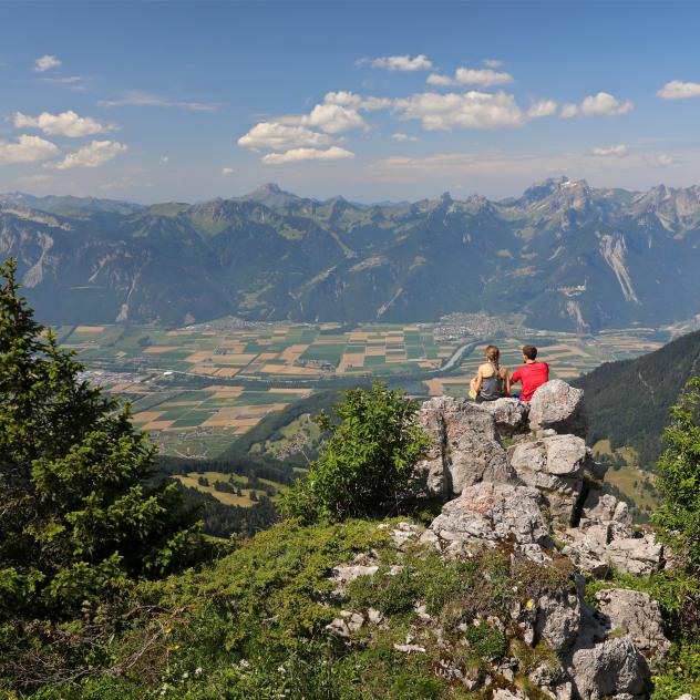 Hiking in Leysin