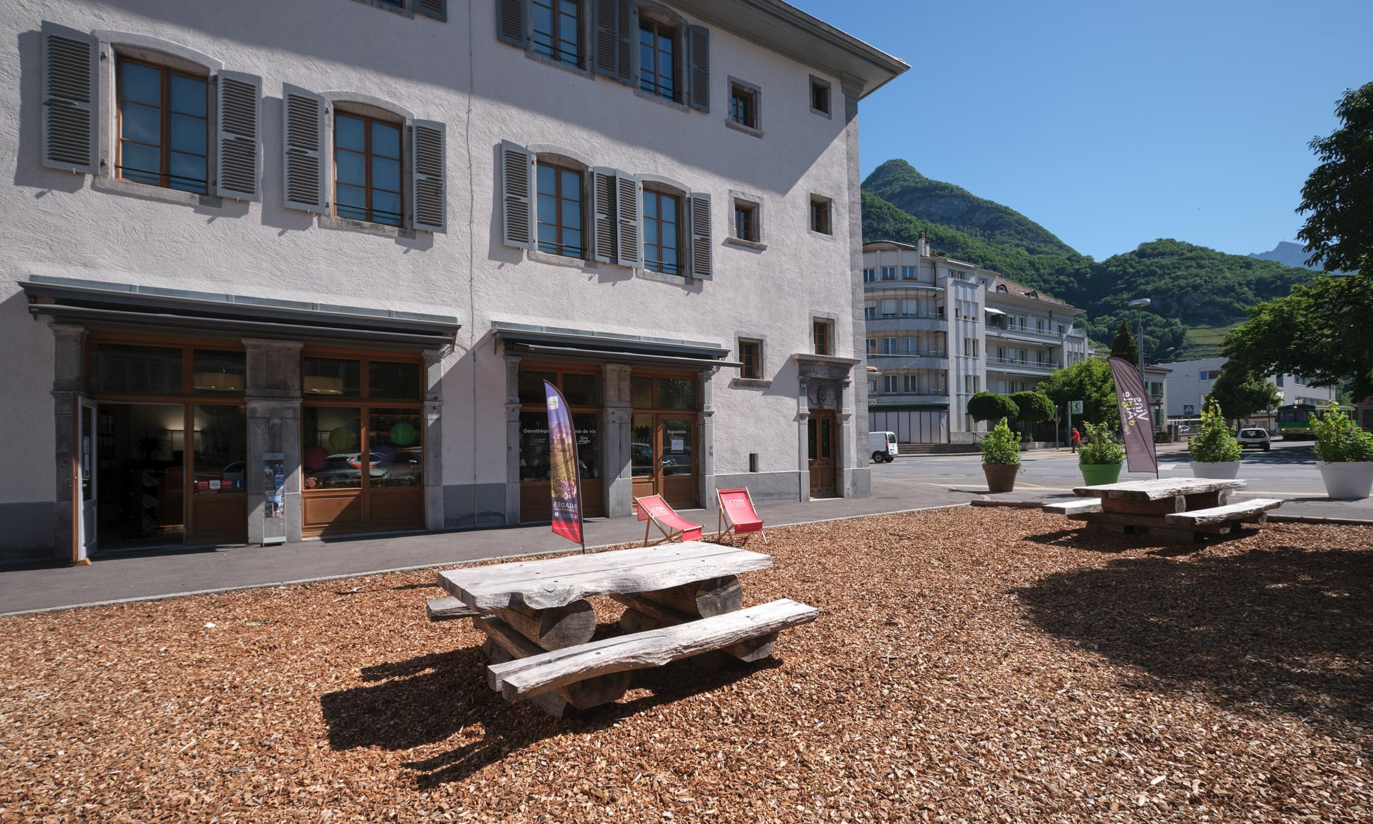 Tourist office - summer - Aigle