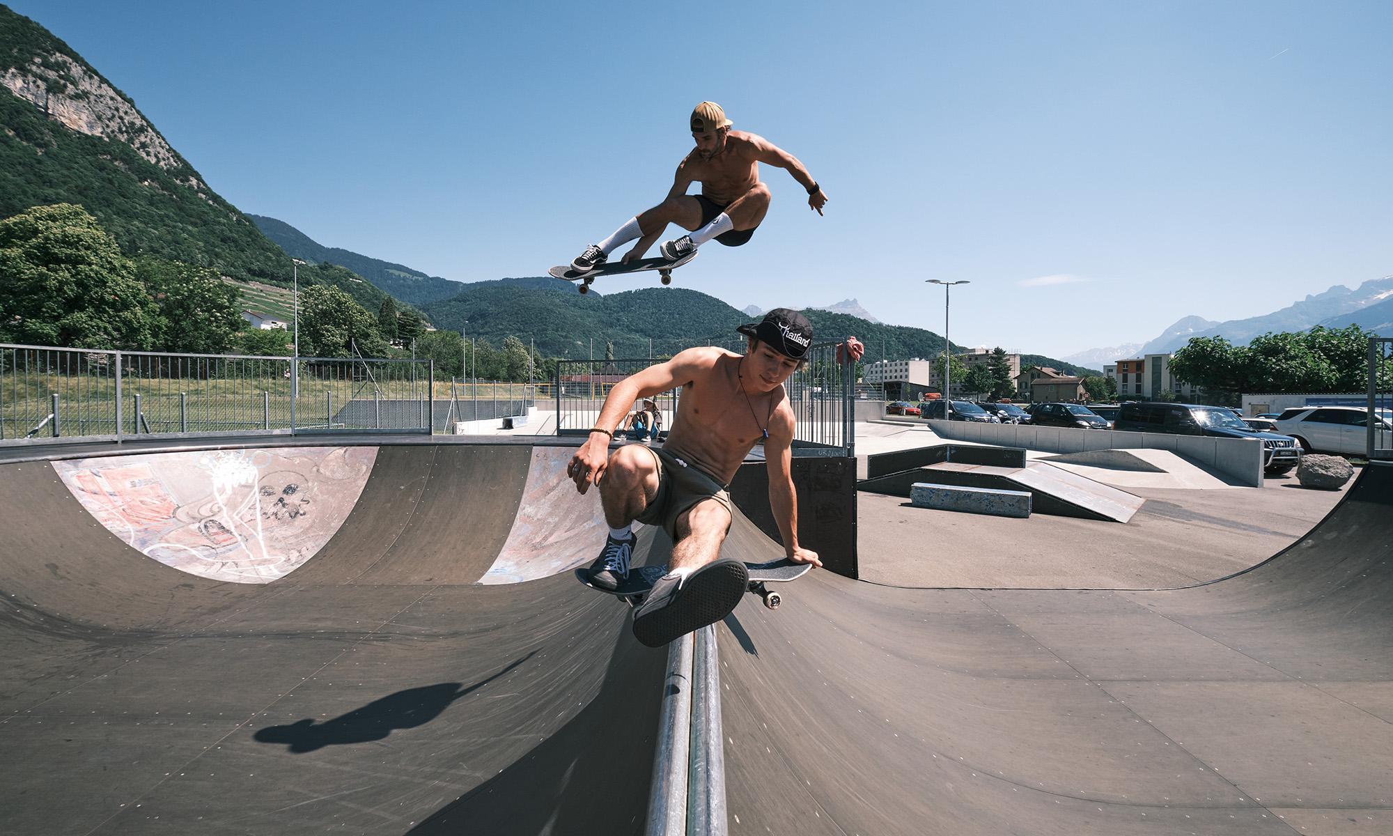 Aigle Skatepark Aigle Leysin Les Mosses