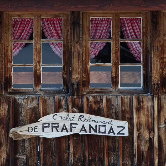 Restaurant de Prafandaz - Welcome wall