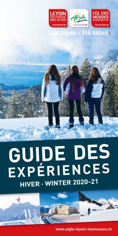 Guide Experiences - hiver 20-21 - Cover