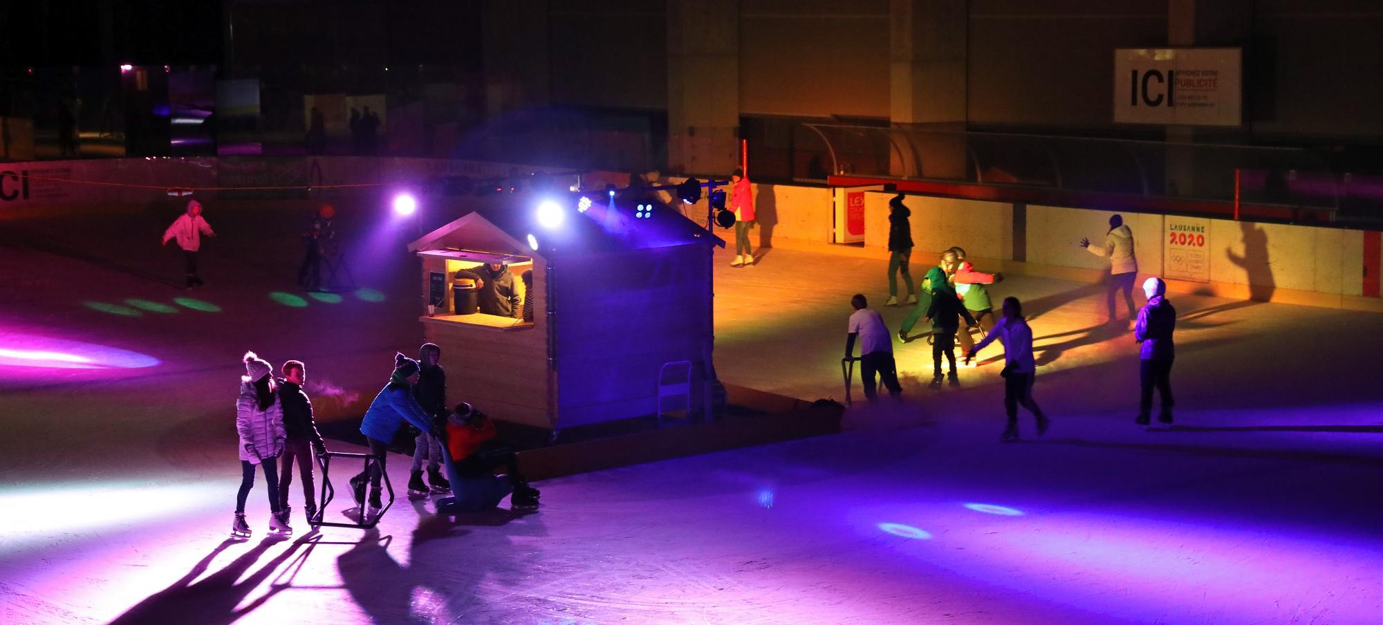 Eisbahn Leysin