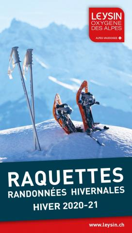 plan raquettes - hiver 20-21 - leysin - cover