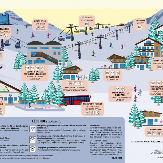 Infographic Preview - coronavirus measures - Leysin - Les Mosses