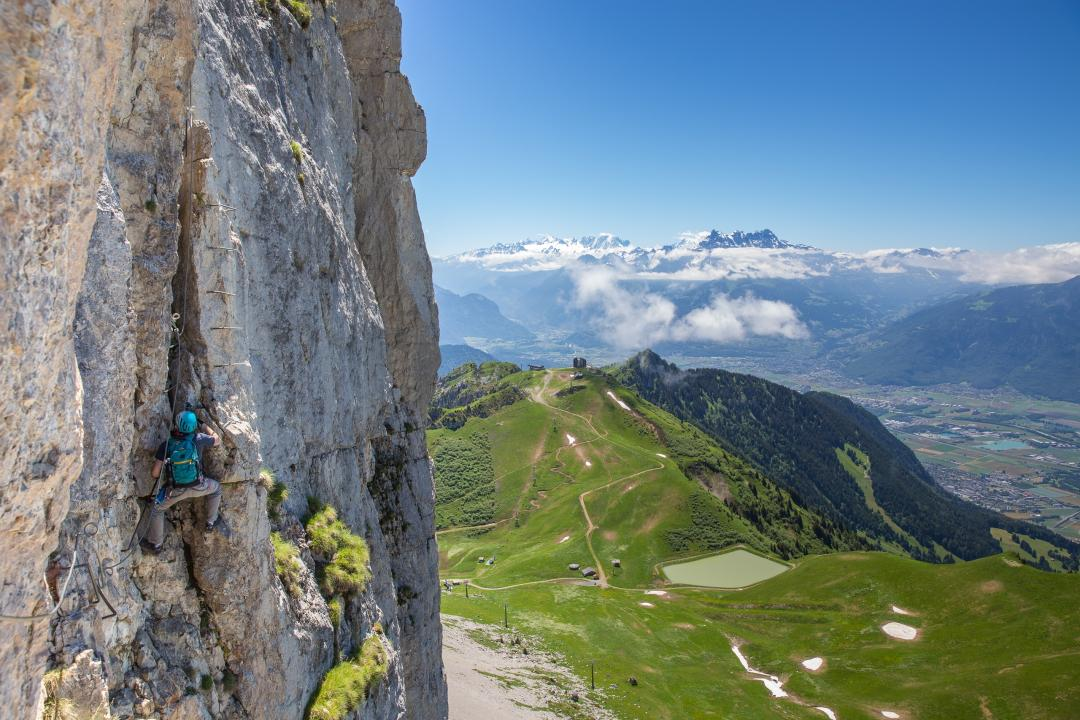 Tour d'Aï Via Ferrata