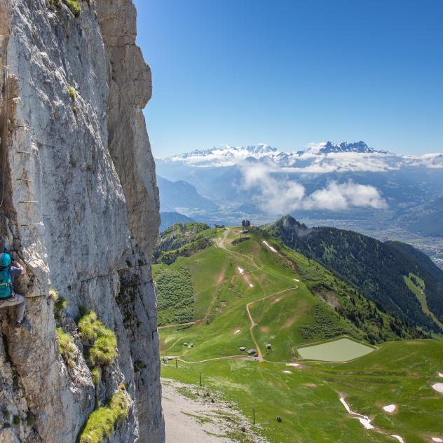 Via Ferrata der Tour d'Aï