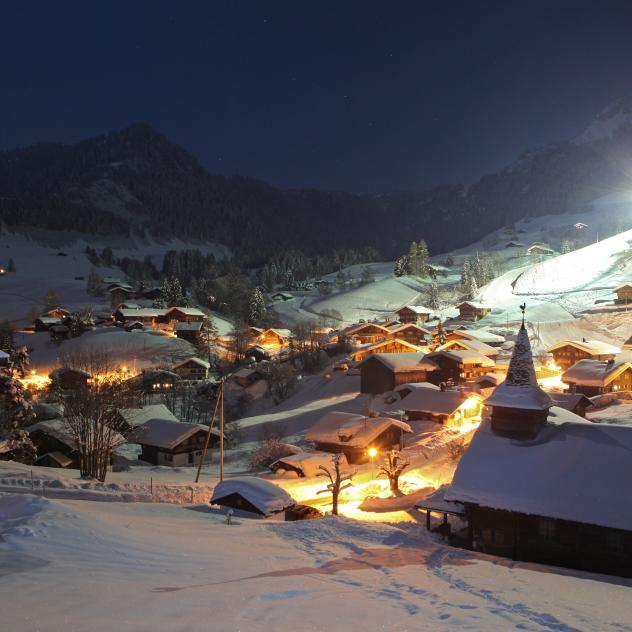 La Forclaz Night skiing