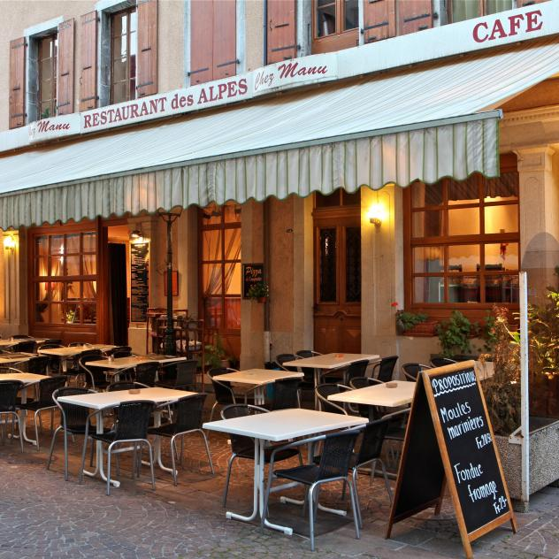 Restaurant-pizzeria des Alpes