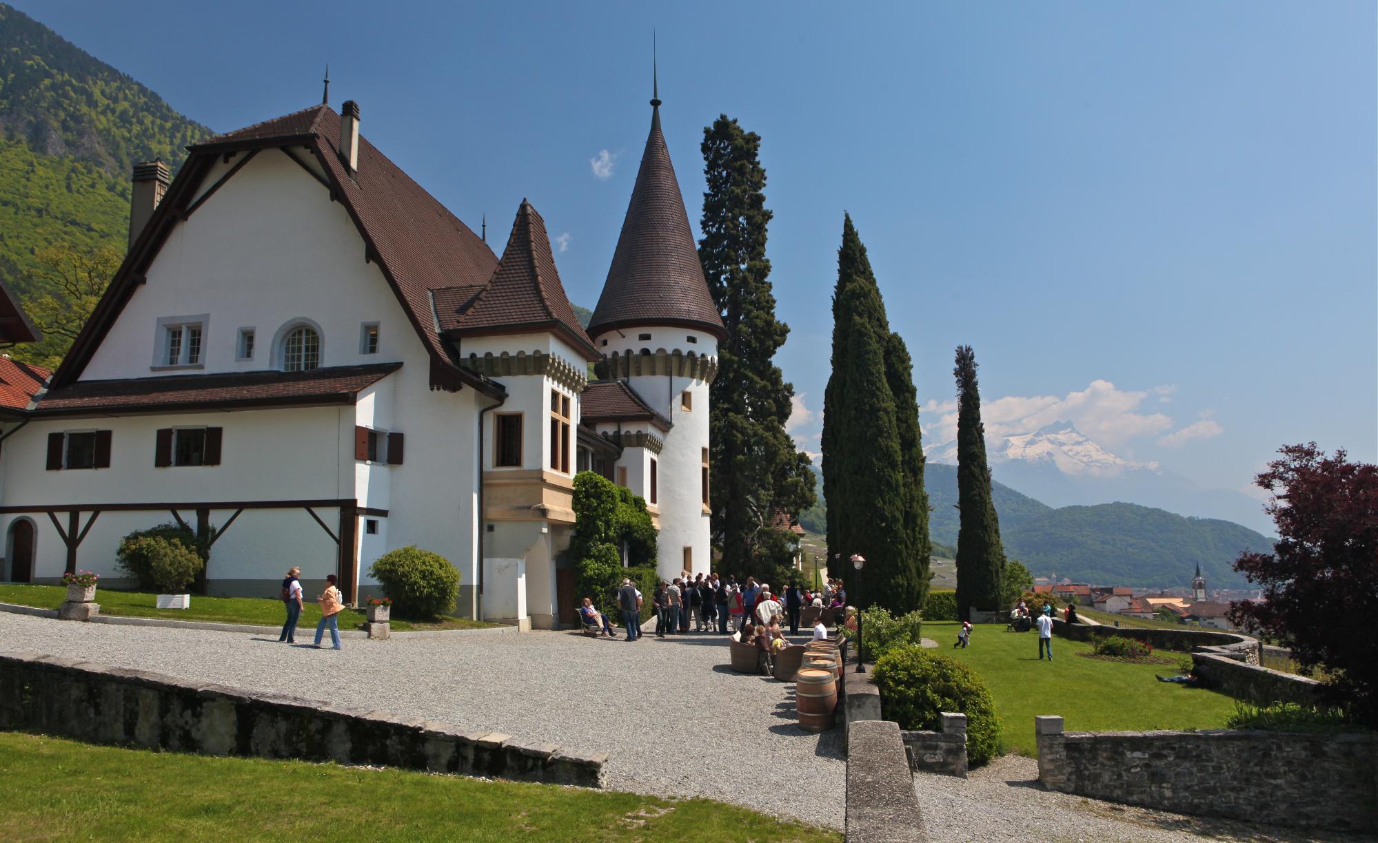 Château maison blanche