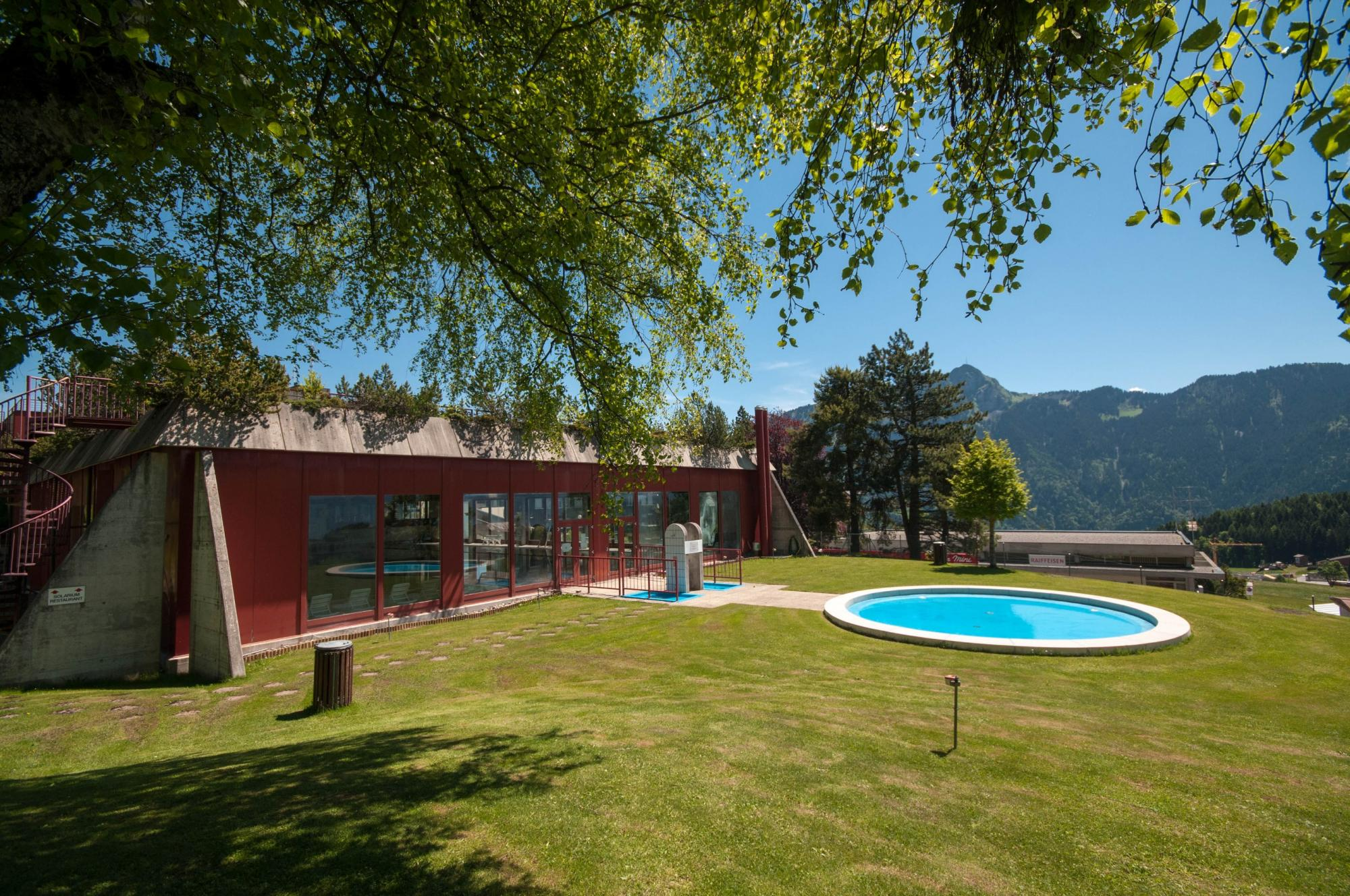 Beau Swimmingpool Leysin