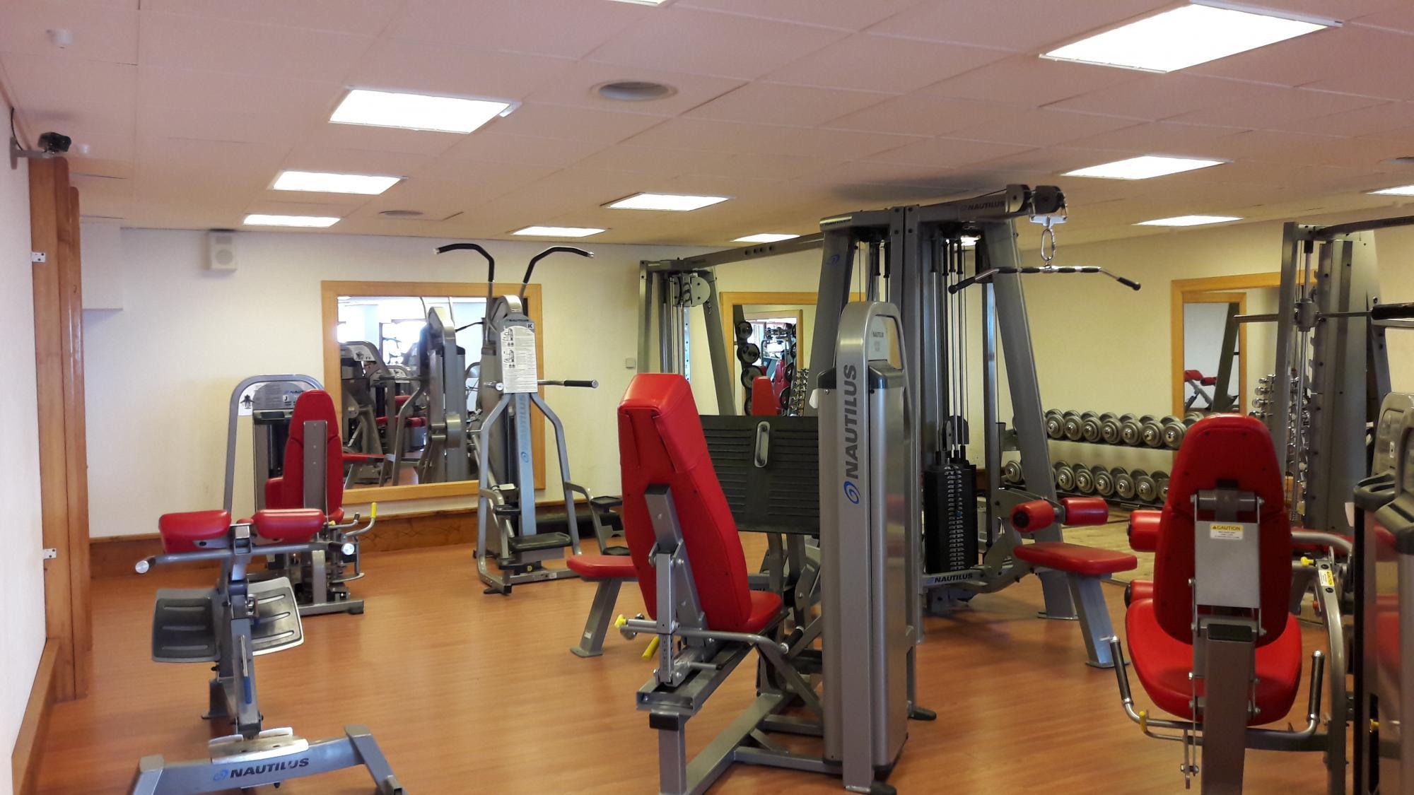 Bodybuilding room site title