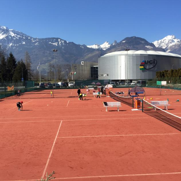 Tennis in Aigle