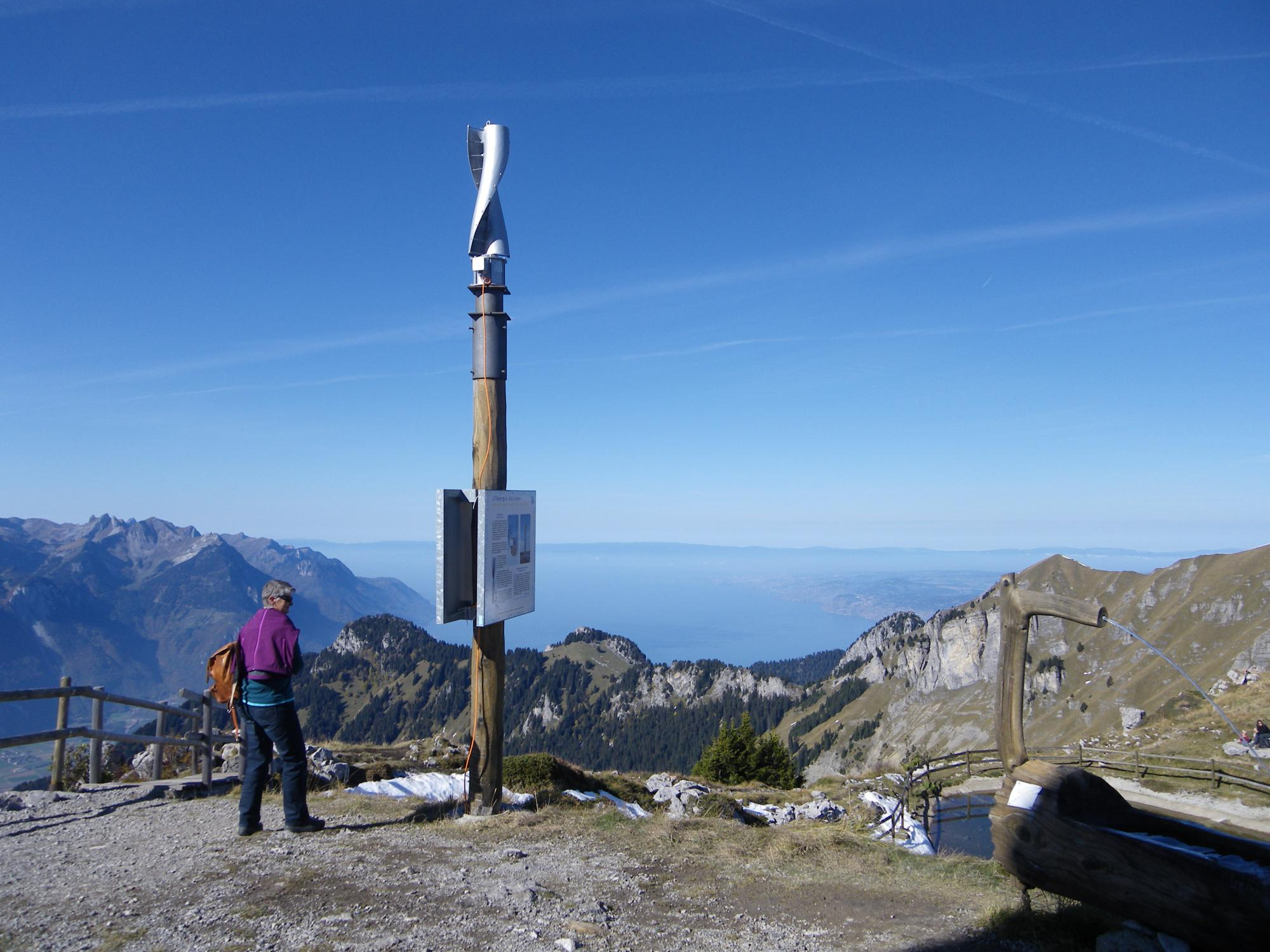 Renewable Energy Trail Leysin