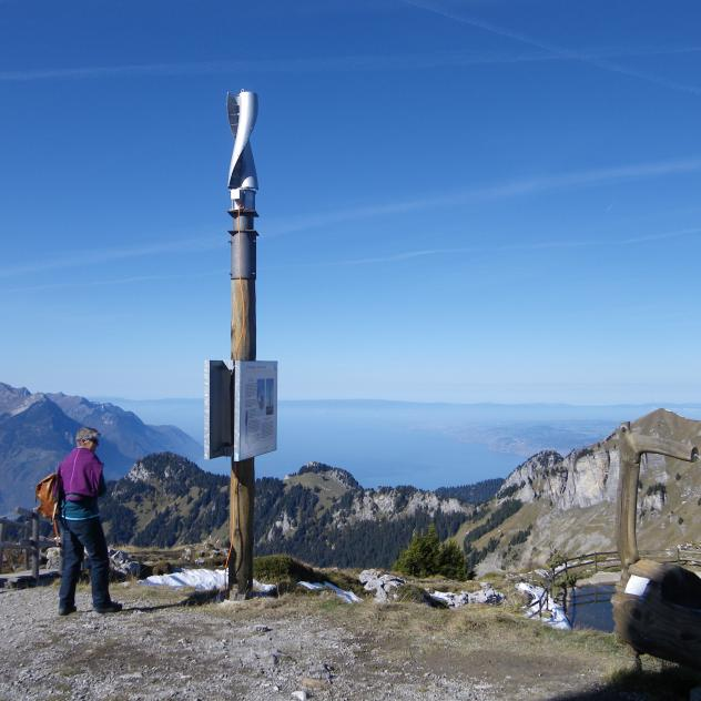 Renewable Energy Trail, Leysin