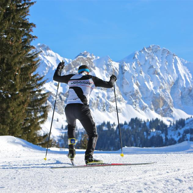 Cross-country skiing - Col des Mosses