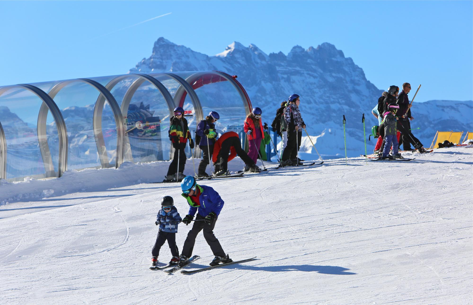 Schneegarten und Vallée Blanche