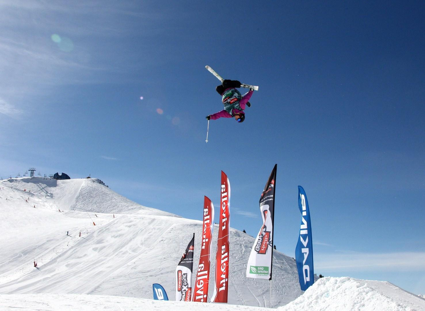 Ski Big Air Snowpark - GiantXtour - hiver - Leysin