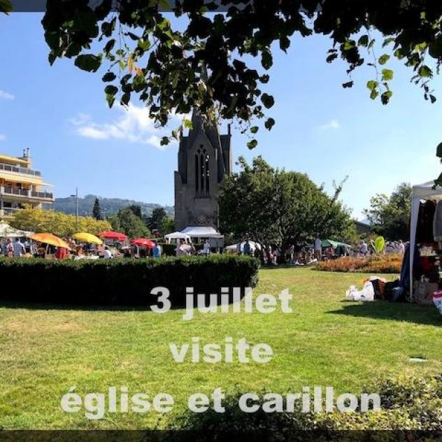 Visite du carillon de 48 cloches - ©