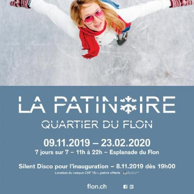 Flon: Patinoire en plein air - ©