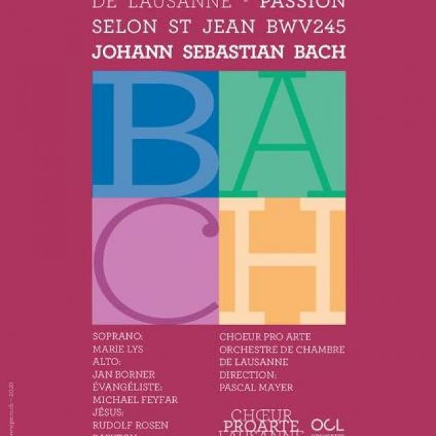Passion selon Saint-Jean, de Bach - ©