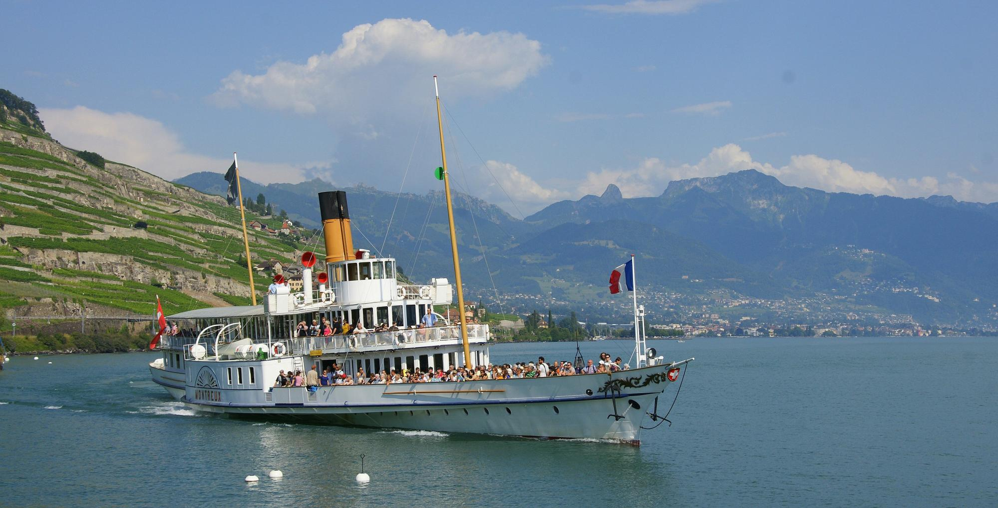 Private cruises by the CGN on Lake Geneva