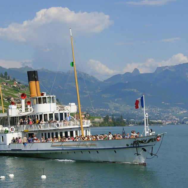 Private cruises by the CGN on Lake Geneva - © © Bertrand Francey