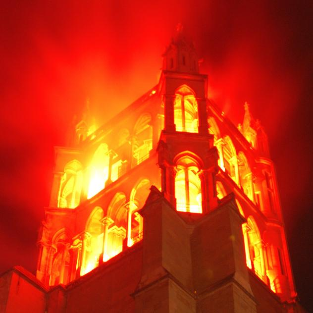 Burning of the Cathedral - © LT/Hugues Siegenthaler