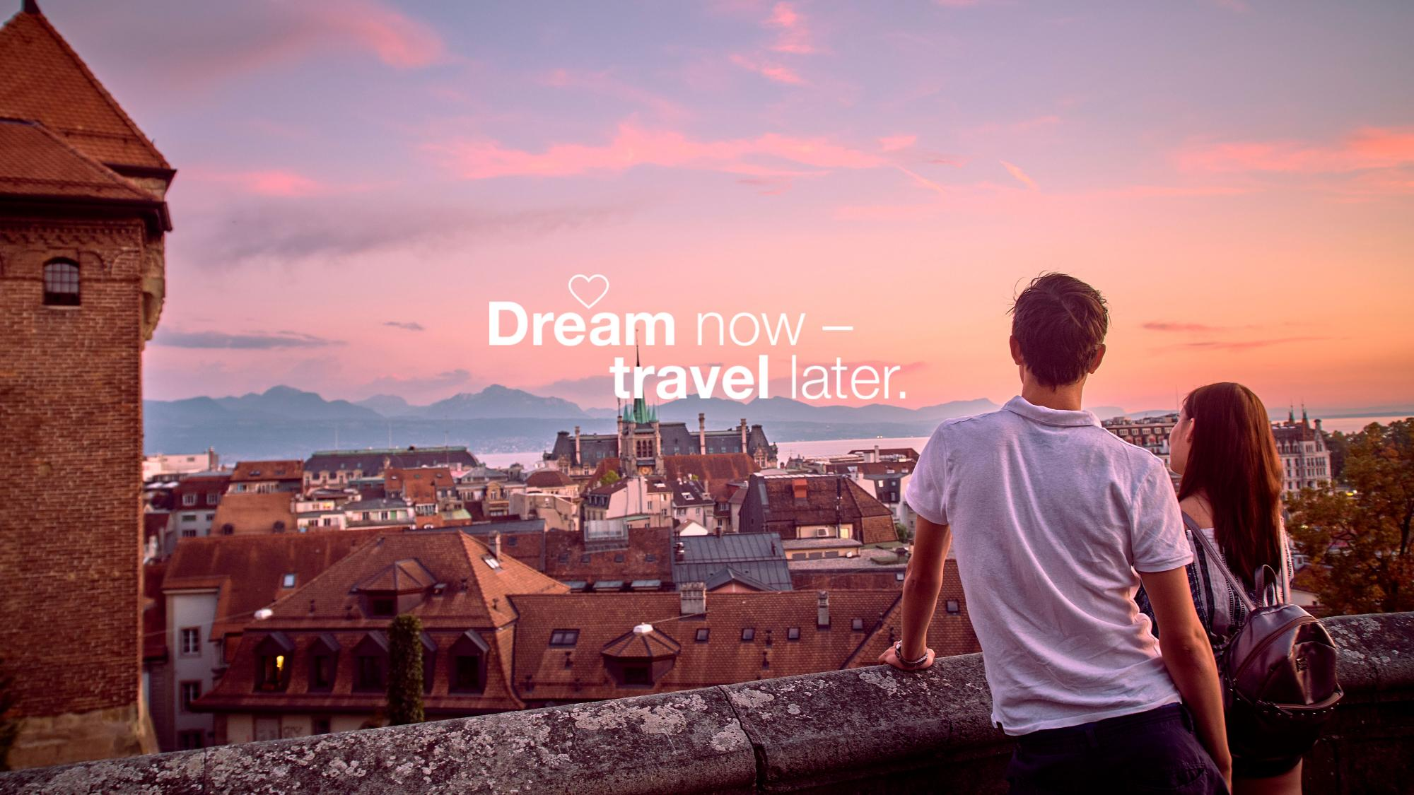 Dream now - homepage