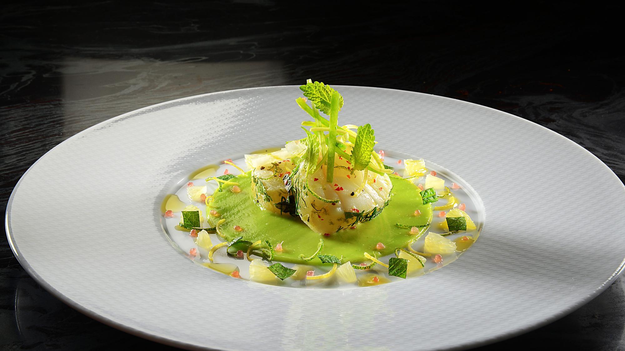 Restaurant de l 39 h tel de ville lausanne tourisme - Restaurant cuisine moleculaire suisse ...
