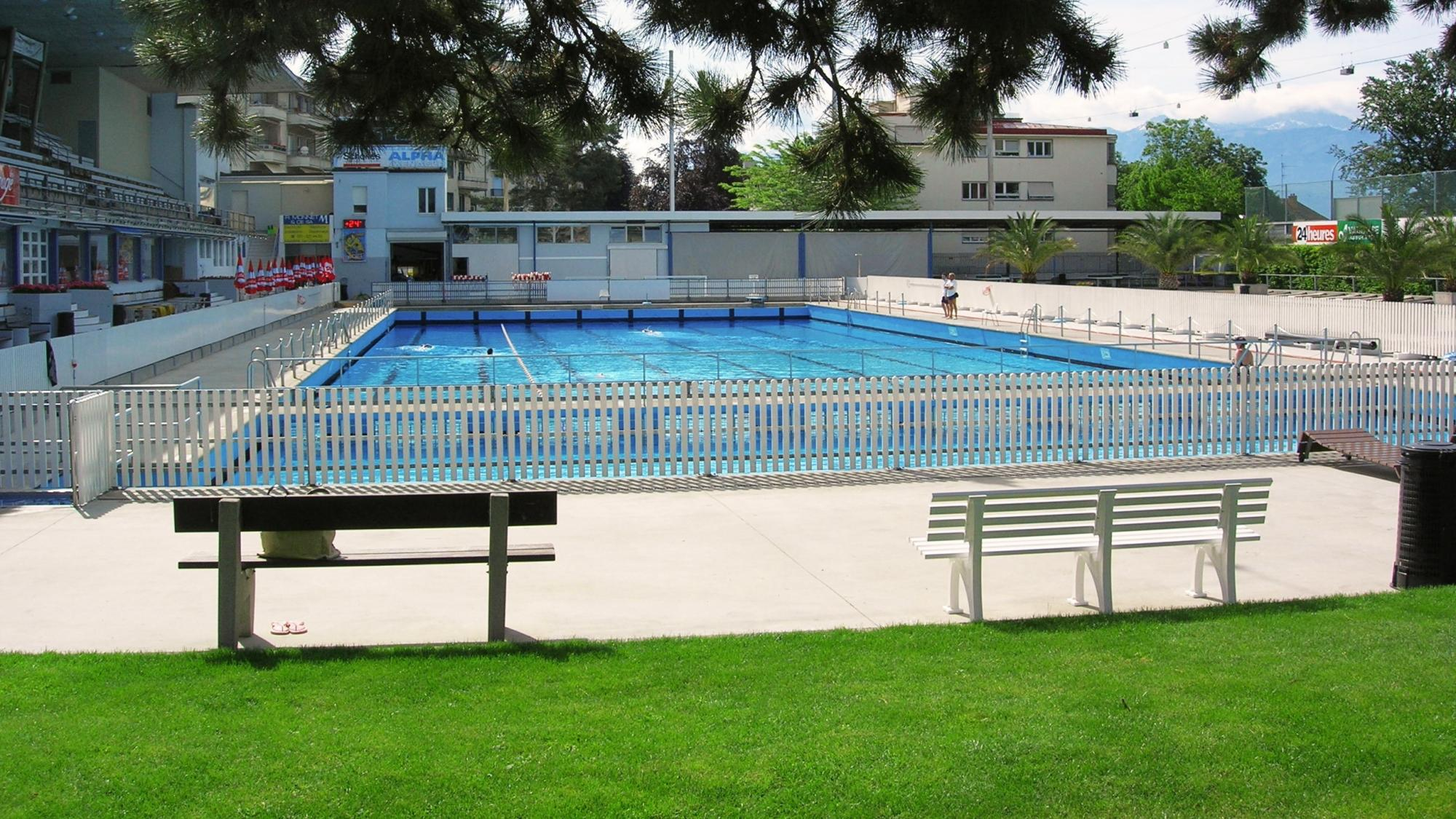 Montchoisi swimming pool