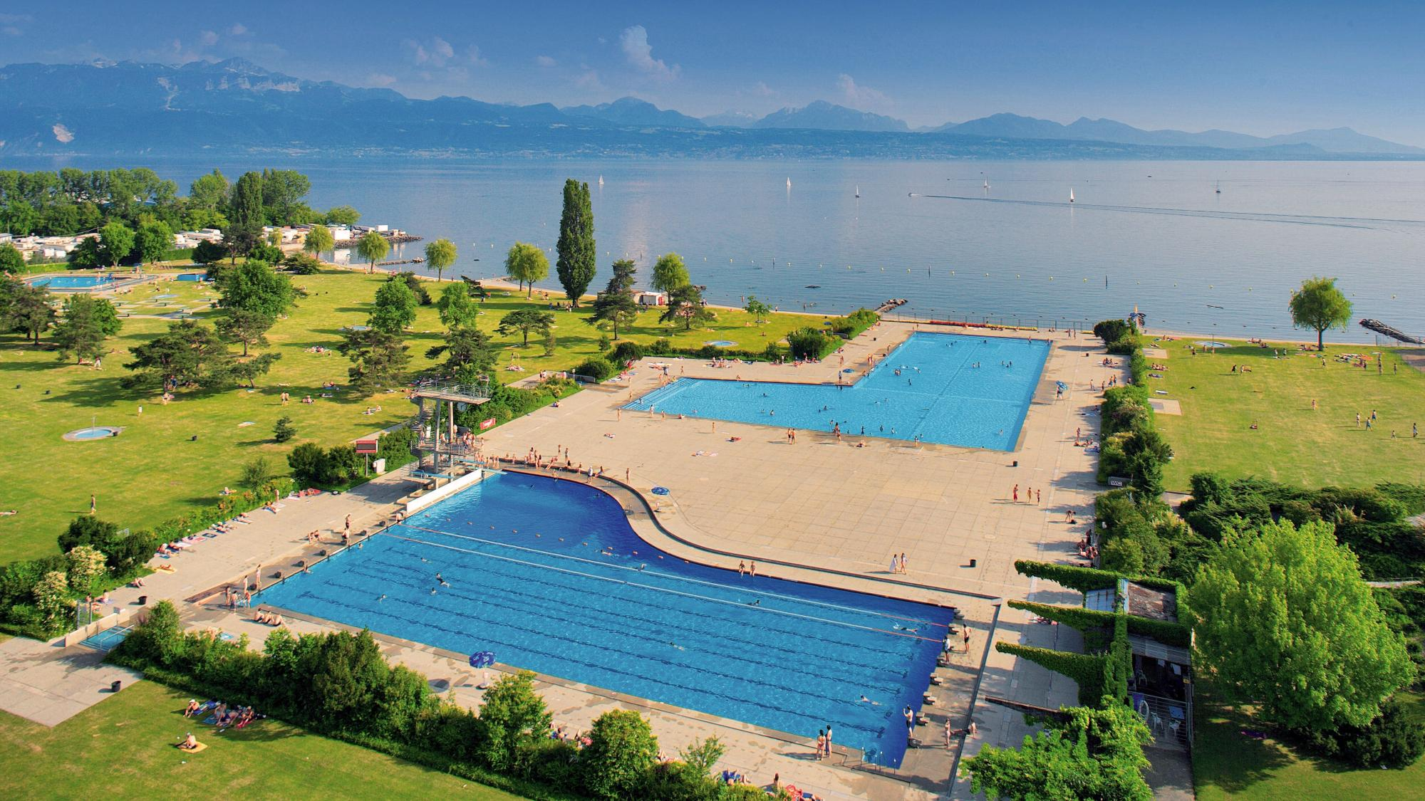 Swimming pools lausanne tourisme for Piscine yverdon