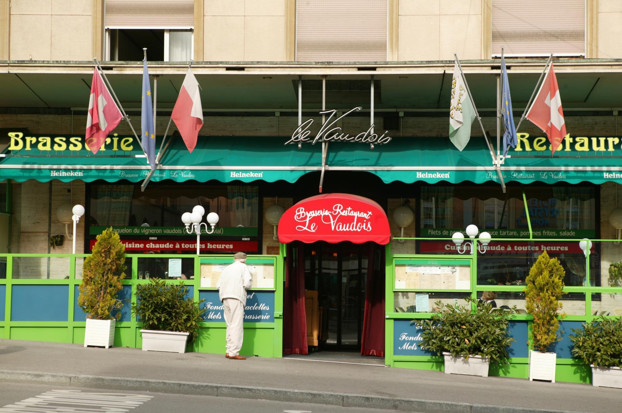 Brasserie Le Vaudois Lausanne Tourisme