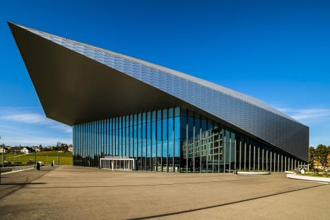 The SwissTech Convention Center