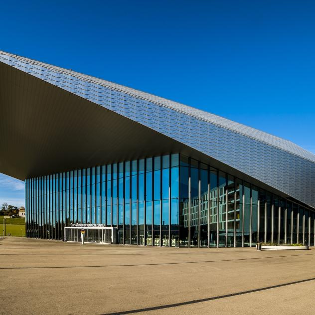 The SwissTech Convention Center - © LT/Laurent Kaczor