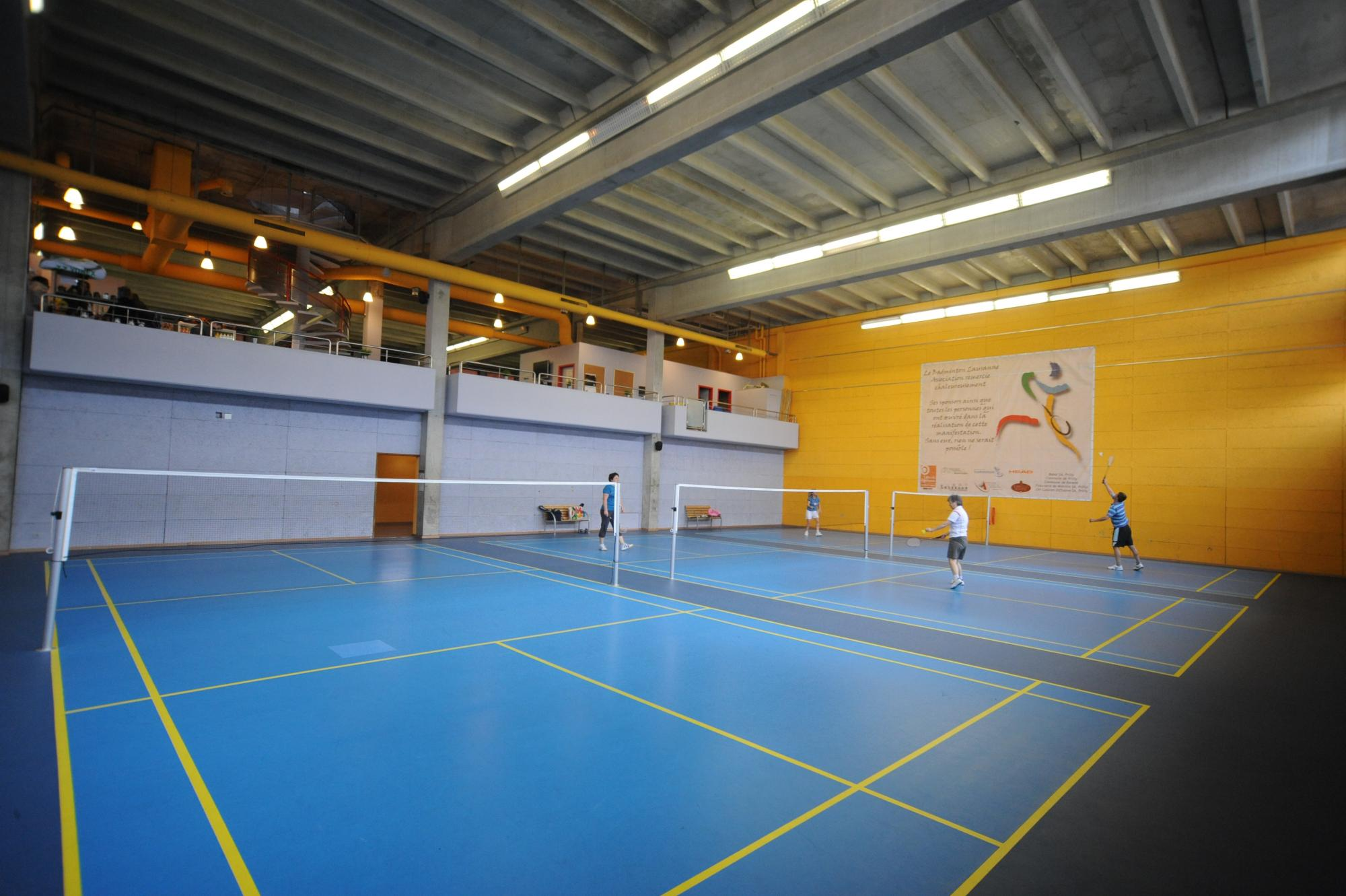Badminton center - Malley
