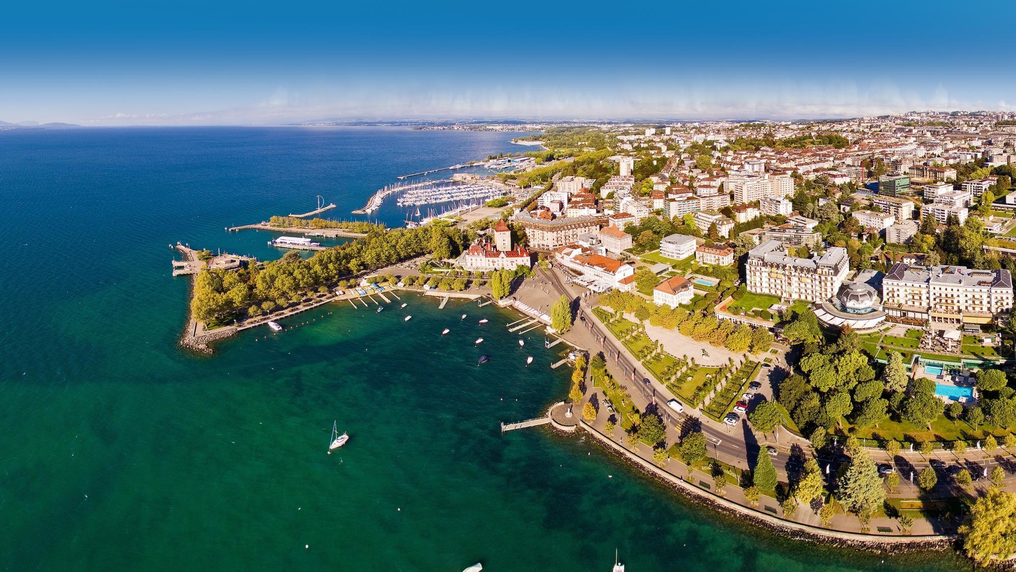 10 reasons to choose lausanne lausanne tourisme for Bellerive lausanne piscine
