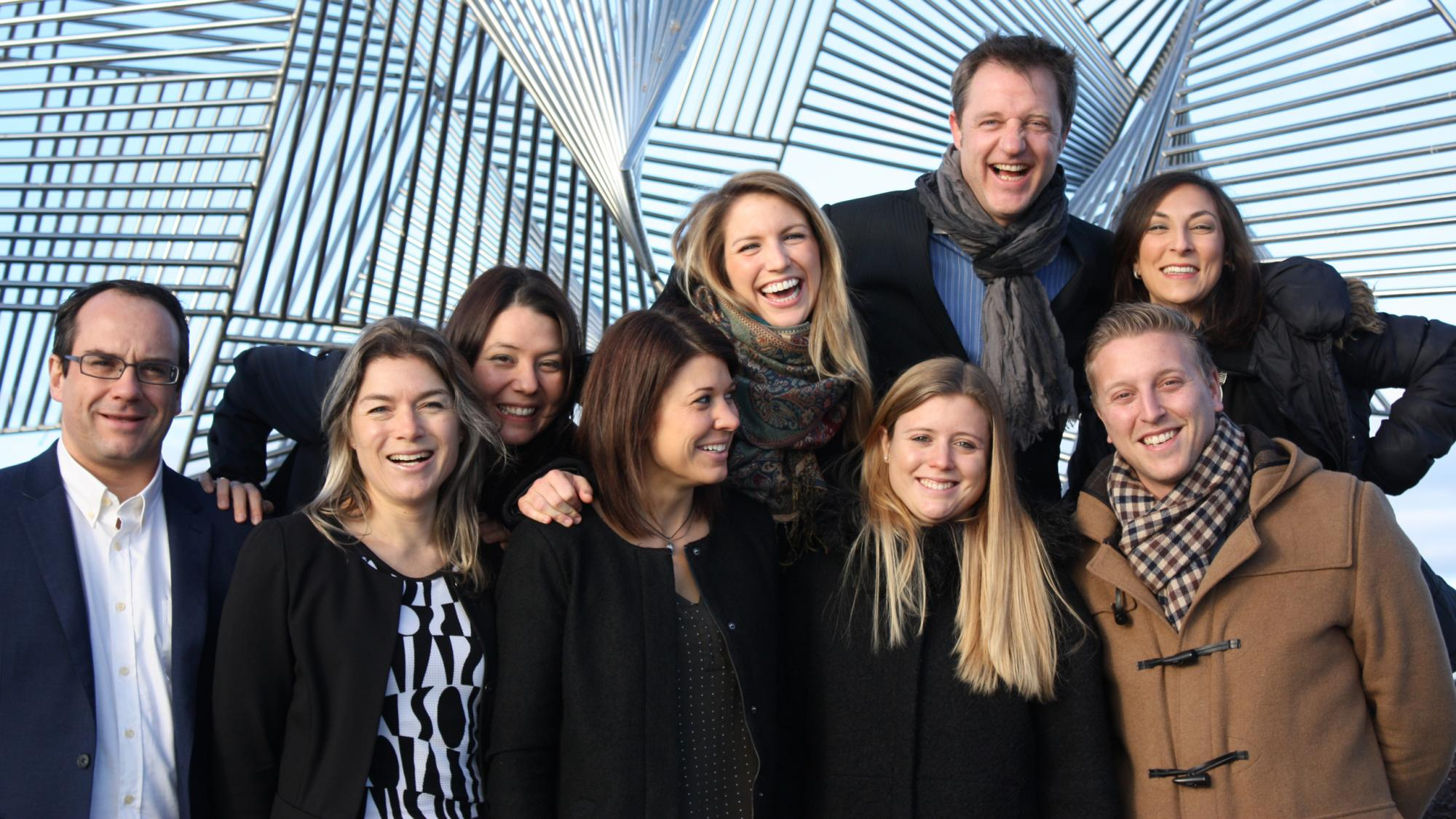 The marketing Team from Lausanne Tourisme - © Lausanne Tourisme