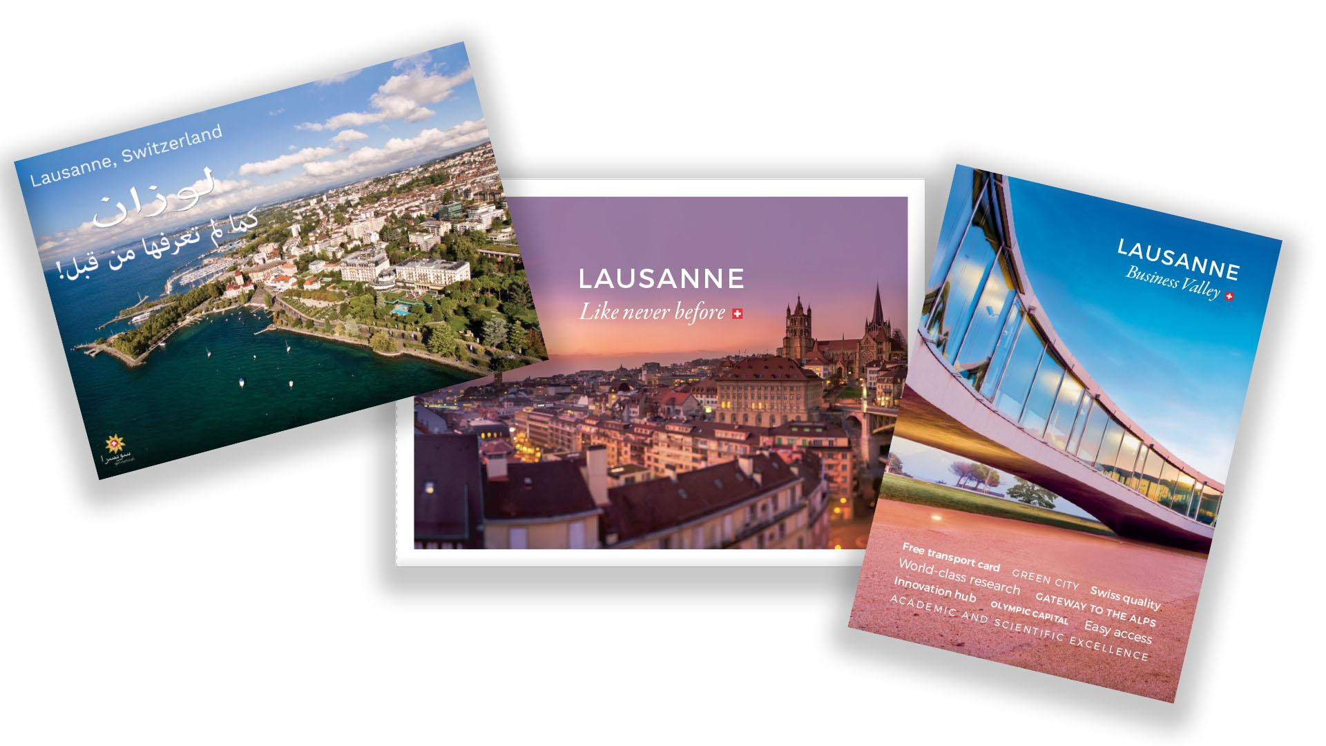 Business brochures - © Lausanne Tourisme