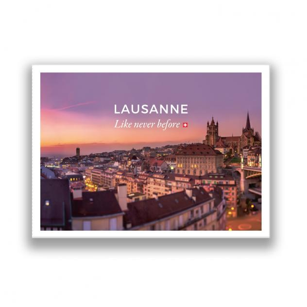 Lausanne Like Never Before - © Lausanne Tourisme