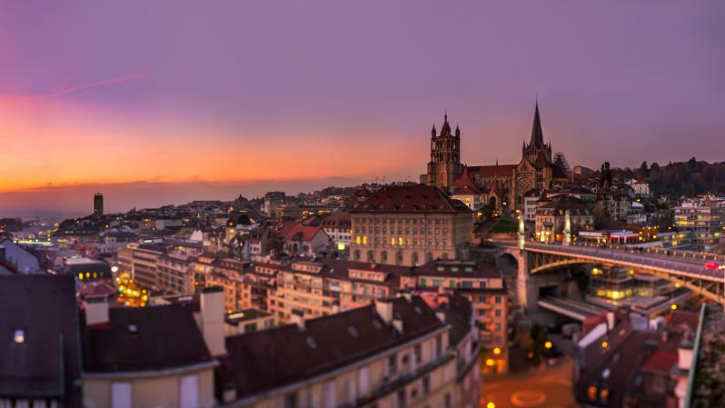 Panorama Lausanne - © Francois Marclay